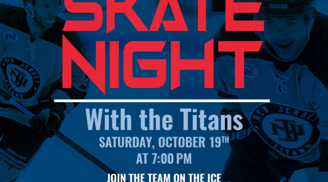 Skate Night with Titans announced for October 19