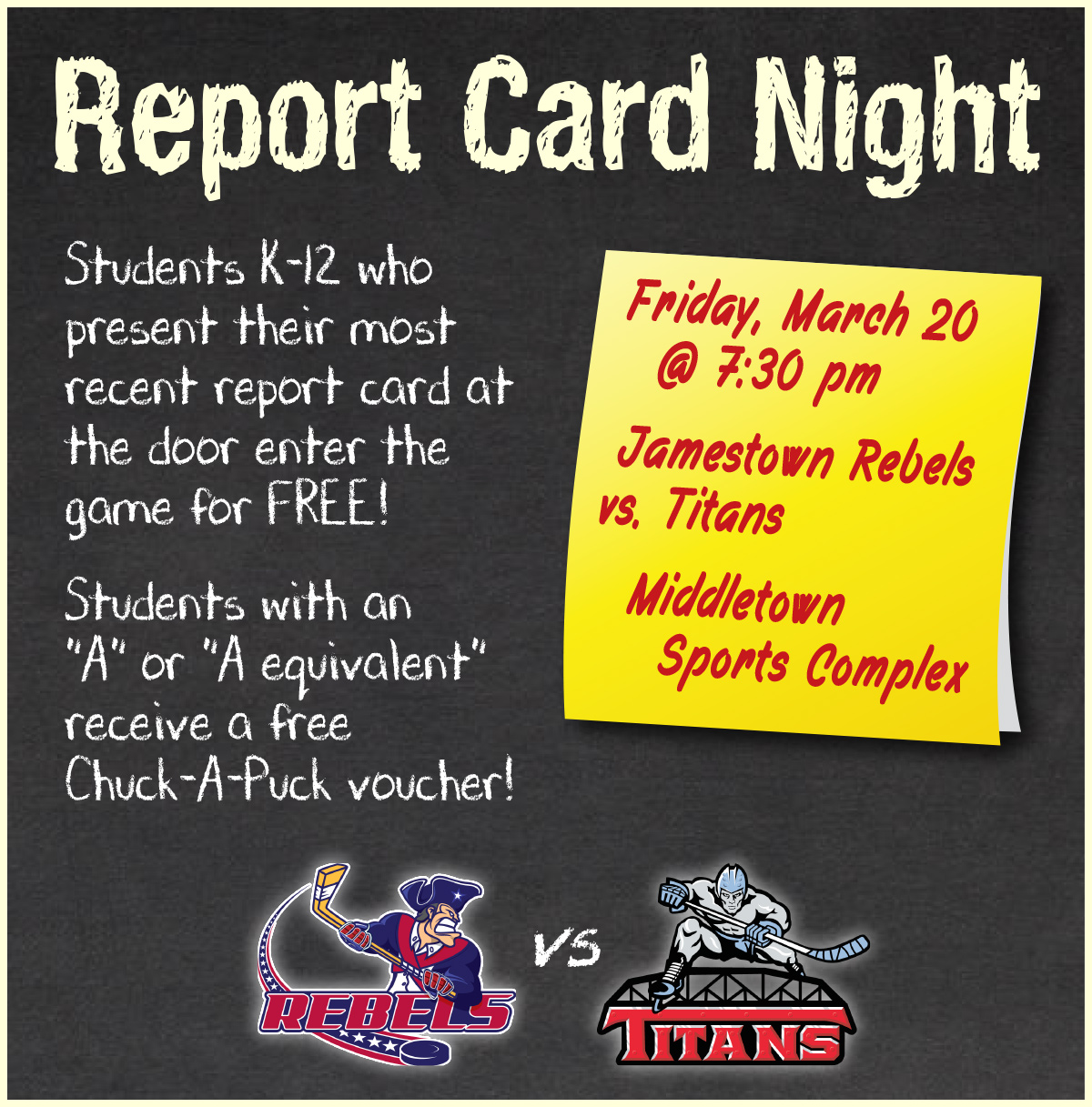 Report Card Night - March 20, 2020