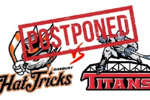Jr. Hat Tricks & Titans game has been postponed
